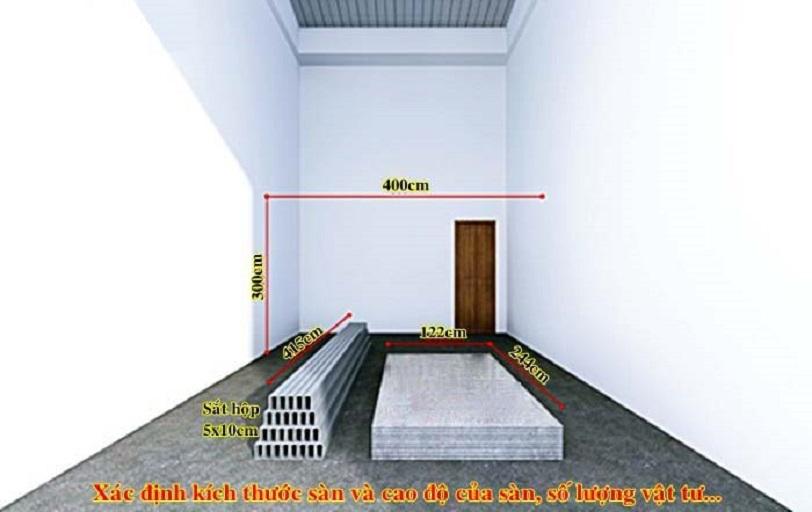 Thi công tấm lót sàn nhà DURAflex