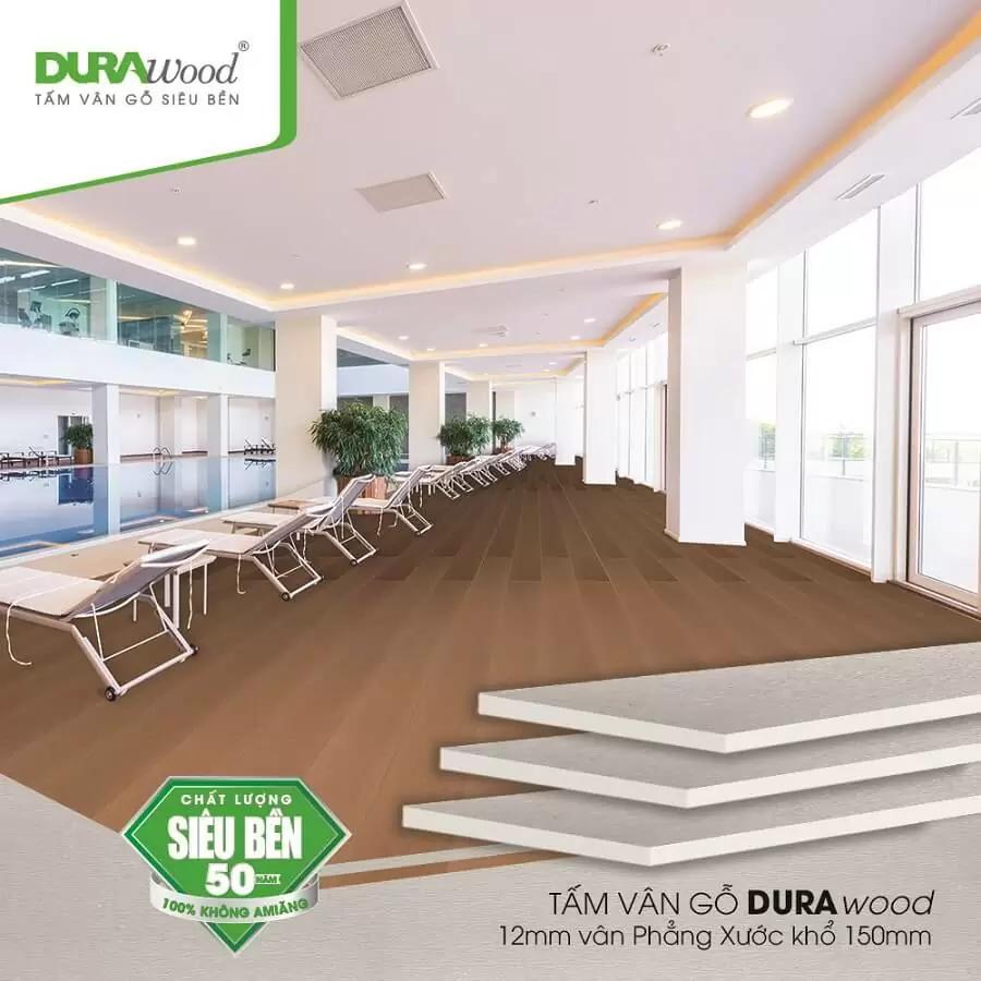 Tấm lót sàn nhà DURAflex 12mm